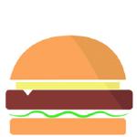Patty burger png