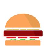 Picca burger png