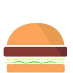 Rucola burger png