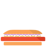 Tutto hot dog png