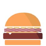 pancetta burger png