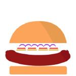 porko burger png