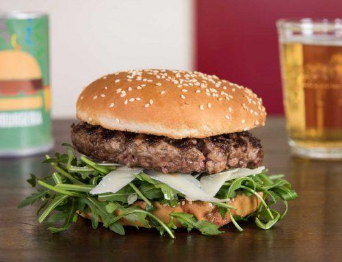 Rucola burger