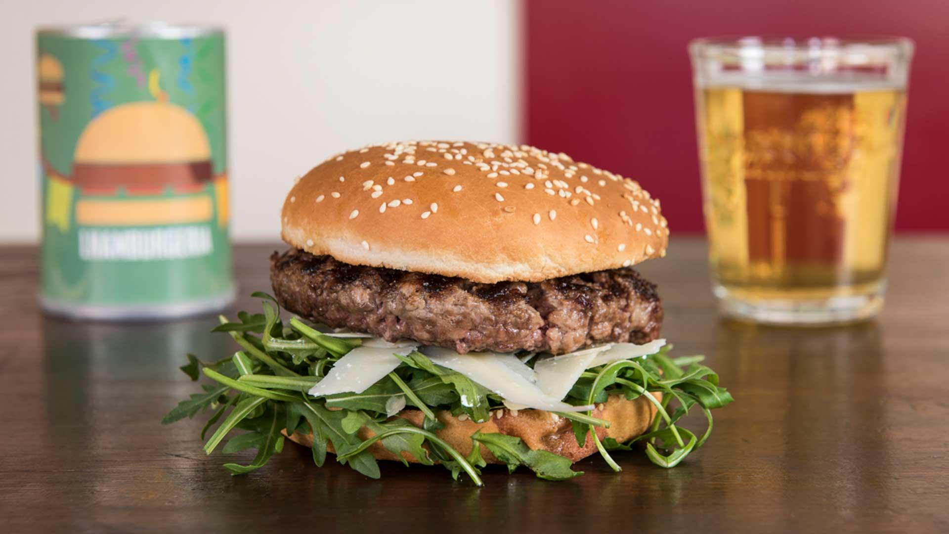rucola-burger